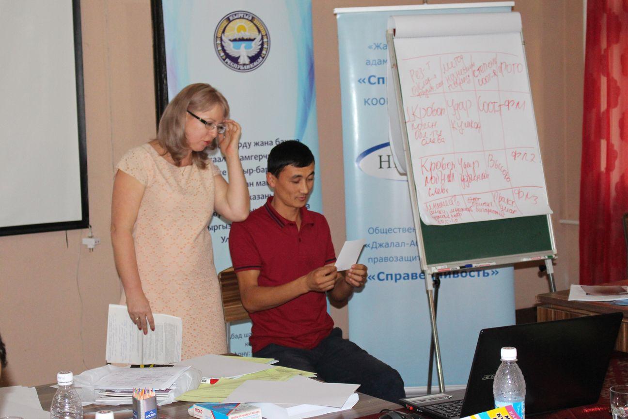 Врачей Жалал-Абадской областной объединенной больницы обучили правильному документированию фактов насилия и жестокого обращения.